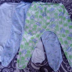 Sliders and pants