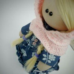 Куклка текстильная зефирка