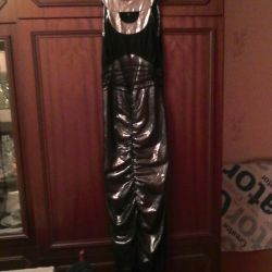 черное платье, туфли+духи