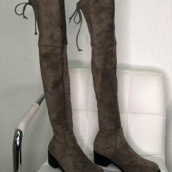 Stuart Weitzman suede boots new