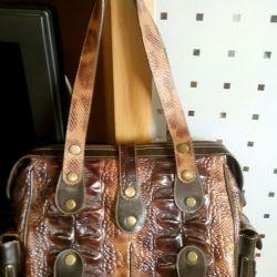Δερμάτινη τσάντα για κροκόδειλο