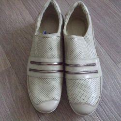 Yeni ayakkabılar hakiki deri satacak