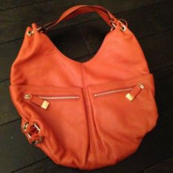 Yeni turuncu çanta Michael Kors