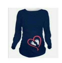 Long sleeve for pregnant women