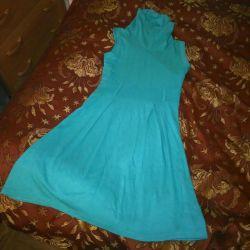 Платье - сарафан.Тeплое