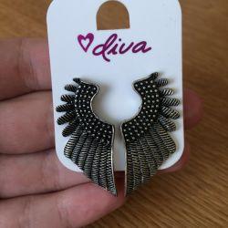 Σκουλαρίκια Diva