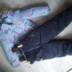 Jacket and pants winter