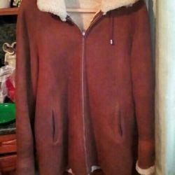 Sheepskin coat 52-54 size