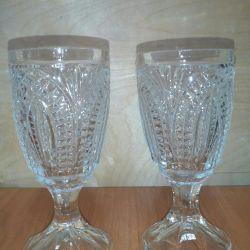 Champagne glasses USSR