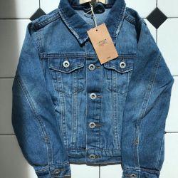 Джинсовий куртка на хлопчика