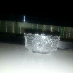 Sticlă de sare de sticlă Antichități