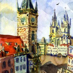 Prague. Czech. Free copy