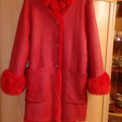 Selling female sheepskin coat Escada sport100% Original