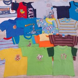 Clothing for boy package