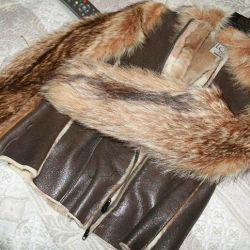 Deri ve kürk ceket