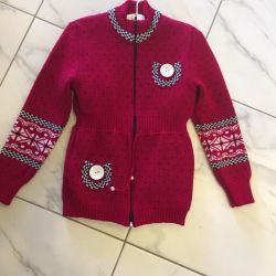 Double-knitted jacket p.128