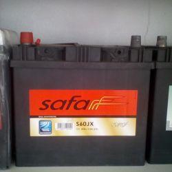 Аккумулятор SAFA 60AH 510A Asia новый