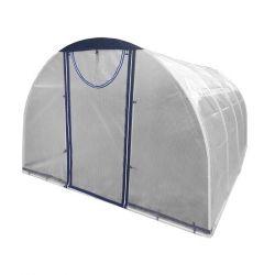 Greenhouse collapsible 4х3х2 m, reinforced polyethylene