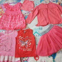 Ρούχα για 1-2 χρονών κορίτσι (92)