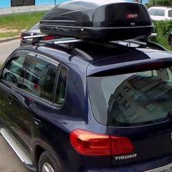 VW Tiguan için Bagaj