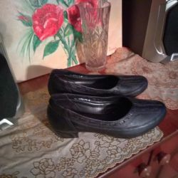 Genuine leather shoes 40 size