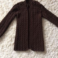 Knitted new cardigan