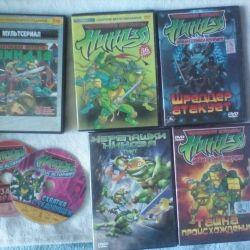 Turtles ninja DVD collection