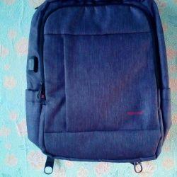 Рюкзак сірий новий ***