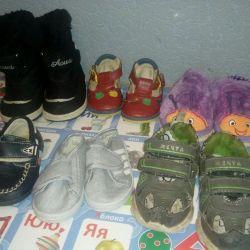 Primul pachet pentru pantofi