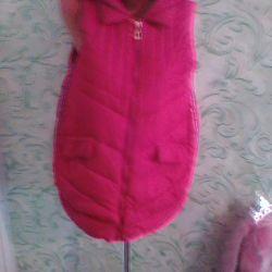 Kırmızı kolsuz elbise 48/50