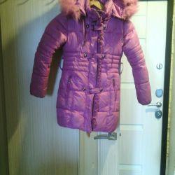 Coat for winter girl