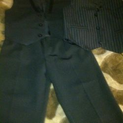 New trousers and two waistcoats