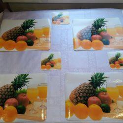 Set of napkins new