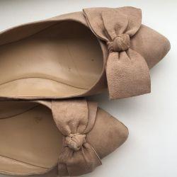 Ballet shoes Corsocomo suede beige 36 rr