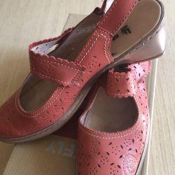Kadın ayakkabı Makfly new leather