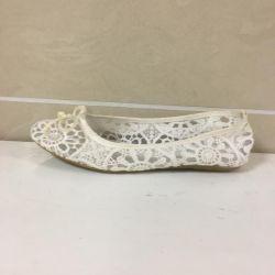 Female ballet shoes