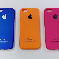 Silicone Case iPhone 5S / 6 / 6S / 7/8.