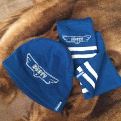 Reebok set hat + scarf