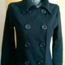 Пальто на підкладці, (до середини стегна)