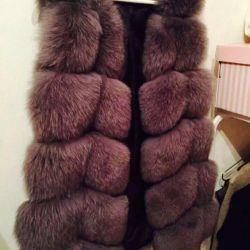 Vest of Arctic Fox