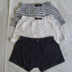 Underpants for children and T-shirt set 104 HIS 3 pcs