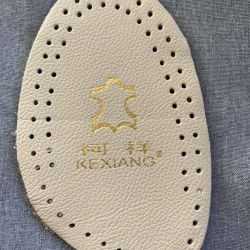 New leather half insoles