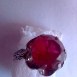 Ασημένιο δαχτυλίδι 925 με πέτρα