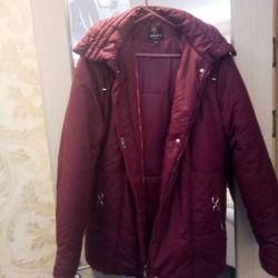 Пальто балоневое б/у 50-52 размер.