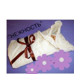 Одеяло- конверт для новорожденного малыша