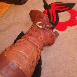Boots demi-season naturalka