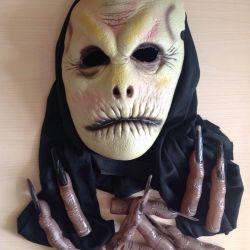 Μάσκα και δάκτυλα σιλικόνης 10 τεμ.