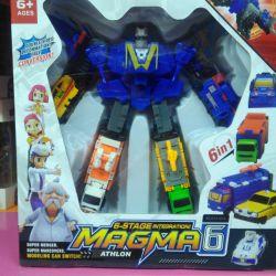 Tobot robot Magma 6 in 1 Magma 6