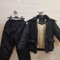 Ceket ve pantolonlar çocukta ılıktır