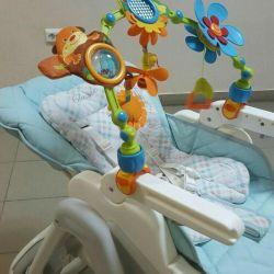 Νοσηλείας καρέκλα + τόξο λαβ
